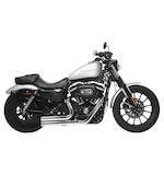 Rush Short Series Exhaust System For Harley Sportster 2004-2013