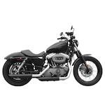 """Rush 3"""" Slip-On Mufflers For Harley Sportster 2004-2008"""
