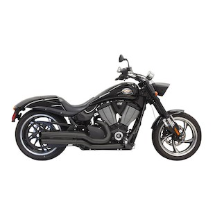 Bassani Pro-Street Turn-Out Exhaust For Victory 2005-2015
