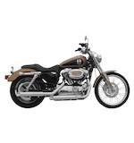 """Rush 3"""" Slip-On Mufflers For Harley Sportster 2009-2013"""