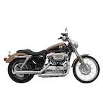 """Rush 3"""" Slip-On Mufflers For Harley Sportster 1992-2003"""