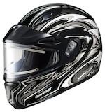HJC CL-Max 2 BT Atomic Snow Helmet - Electric Shield