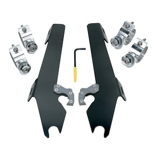 Memphis Shades Batwing Fairing Trigger-Lock Mount Kit For Victory Vegas Jackpot 2004-2015