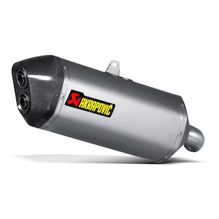 Akrapovic Slip-On Exhaust Suzuki V-Strom 1000 / XT 2014-2018