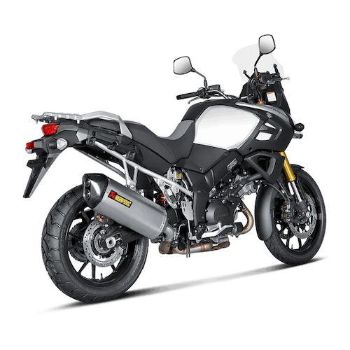 Akrapovic Titanium Exhaust Suzuki V Strom