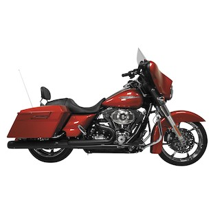 Rush Wrath 2-Into-1 Exhaust System For Harley Touring 2007-2016