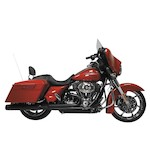 Rush Wrath 2-Into-1 Exhaust System For Harley Touring 2007-2014
