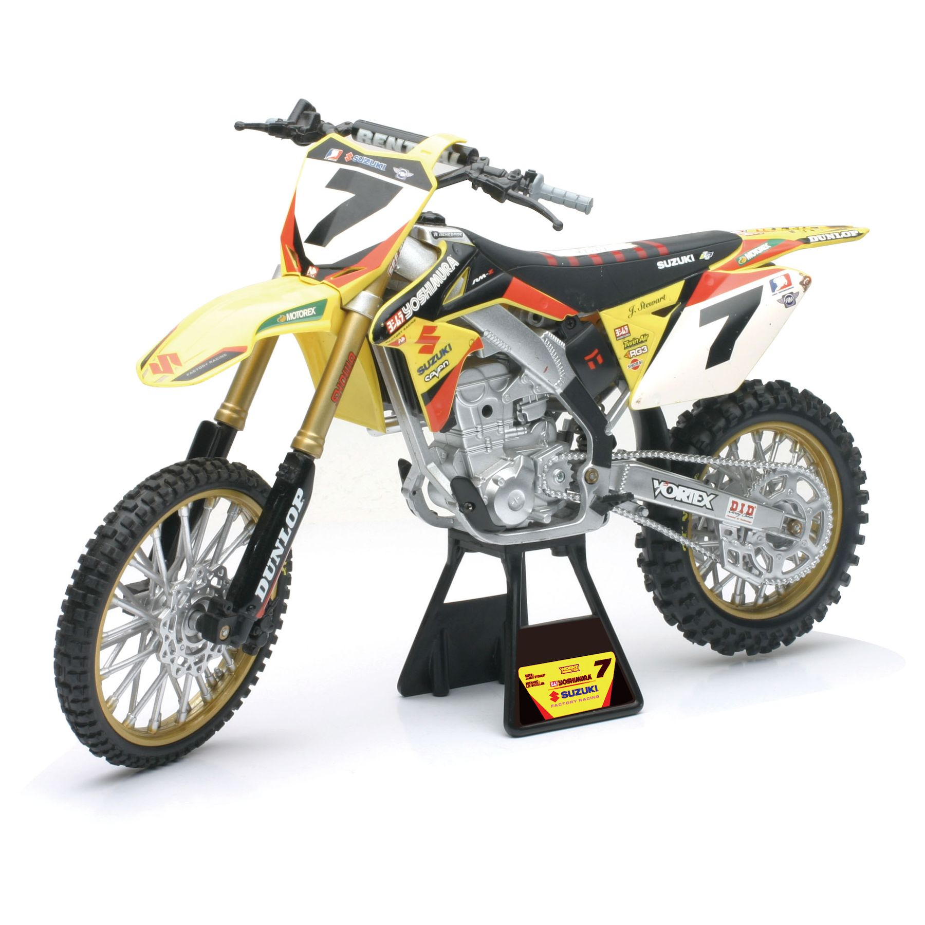 Newray suzuki rm-z450//rm-Z 450 modelo 2014 motocross 1:6