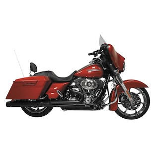 Rush Wrath 2-Into-1 Exhaust System For Harley