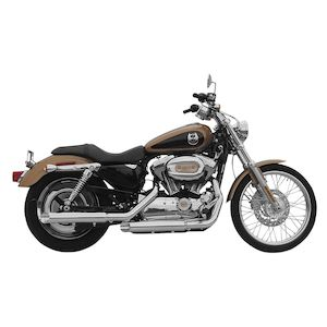 "Rush 3"" Slip-On Mufflers For Harley"