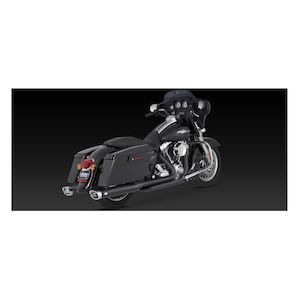 Vance Hines Dresser Duals Headers For Harley Touring 2017 2019 Revzilla