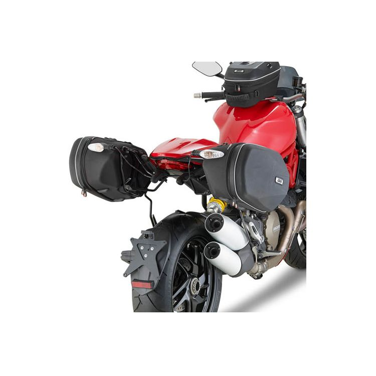 Givi TE7404 Easylock Saddlebag Supports Ducati Monster 1200/S 2014-2016
