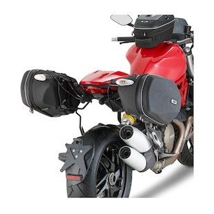 Givi TE7404 Easylock Saddlebag Supports Ducati Monster 1200/S