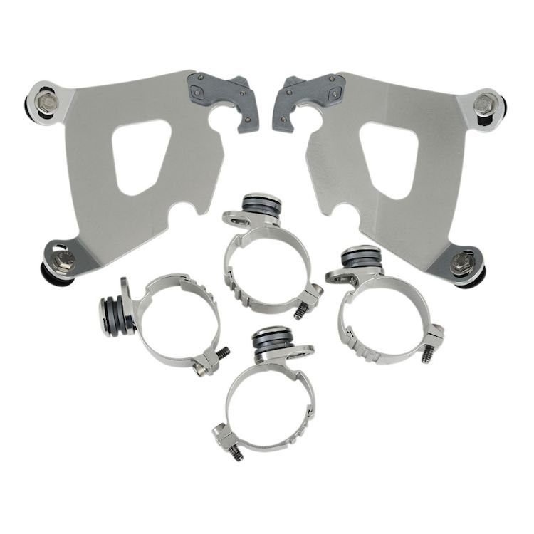 Memphis Shades Cafe Fairing Trigger-Lock Mount Kit For Harley 2006-2020