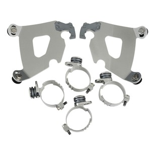 Memphis Shades Cafe Fairing Trigger-Lock Mount Kit For Harley Dyna 2006-2014