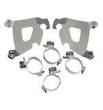 Memphis Shades Cafe Fairing Trigger-Lock Mount Kit For Harley Dyna 2006-2017