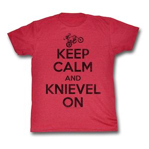 Evel Knievel Keep Calm T-Shirt