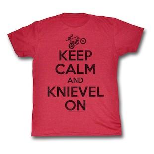 Evel Knievel Keep Calm T-Shirt