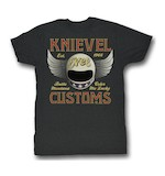 Evel Knievel Customs T-Shirt