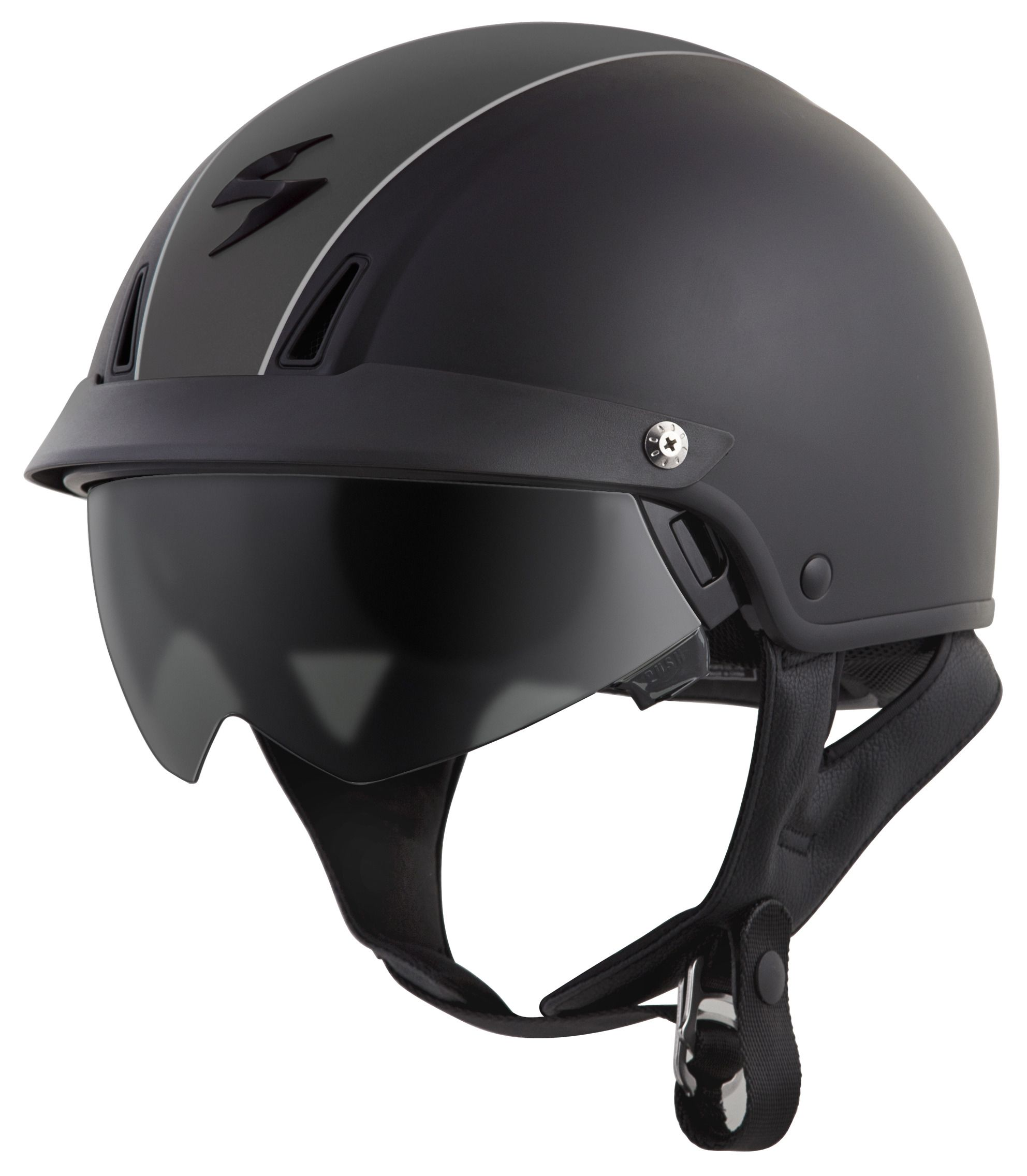 scorpion exo c110 split helmet revzilla. Black Bedroom Furniture Sets. Home Design Ideas
