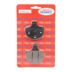 Lyndall Brakes Z-Plus Carbon / Kevlar Front Brake Pads For Harley Big Twin / Sportster 1984-2011