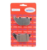 Lyndall Brakes Z-Plus Carbon / Kevlar Rear Brake Pads For Harley Sportster 2004-2013