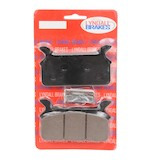 Lyndall Brakes Z-Plus Carbon/Kevlar Rear Brake Pads For Harley Touring 1986-1999