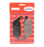 Lyndall Brakes Z-Plus Carbon / Kevlar Rear Brake Pads For Harley Softail / Dyna 2008-2017