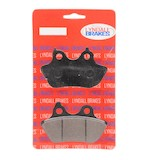 Lyndall Brakes Z-Plus Carbon/Kevlar Rear Brake Pads For Harley