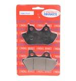 Lyndall Brakes Z-Plus Carbon/Kevlar Front/Rear Brake Pads For Harley 2000-2007