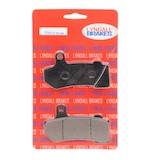 Lyndall Brakes Z-Plus Carbon / Kevlar Front / Rear Brake Pads For Harley Touring / V-Rod 2006-2017