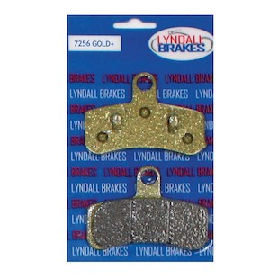 Lyndall Brakes Gold Plus Front Brake Pads For Harley Softail / Dyna 2008-2017