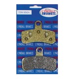 Lyndall Brakes Gold Plus Front Brake Pads For Harley Softail / Dyna 2008-2015