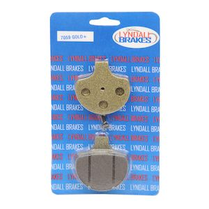 Lyndall Brakes Gold Plus Front Brake Pads For Harley