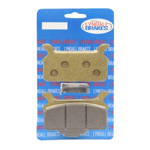 Lyndall Brakes Gold Plus Rear Brake Pads For Harley Touring 1986-1999