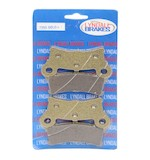 Lyndall Brakes Gold Plus Rear Brake Pads For Harley Trike 2009-2014