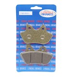 Lyndall Brakes Gold Plus Front/Rear Brake Pads For Harley 2000-2007
