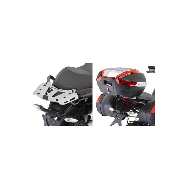 Givi SRA7401 Aluminum Top Case Rack Ducati Multistrada 1200 2010-2014
