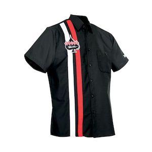 Klock Werks Striped Shop Shirt