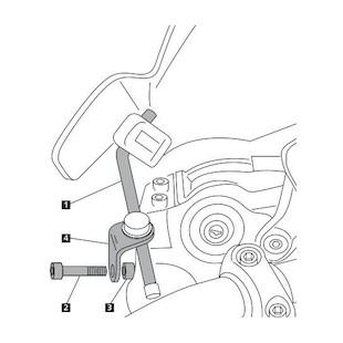 Puig Windscreen Adapter Yamaha FZ-07 / FZ-09