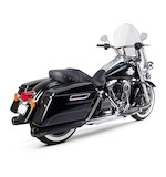 Two Brothers Comp-S Slip-On Mufflers For Harley Touring 1995-2015