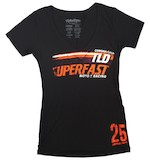 Troy Lee Women's Superfast V-Neck T-Shirt