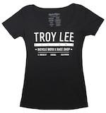 Troy Lee Women's Clean Cut Scoop-Neck T-Shirt