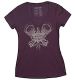 Troy Lee Women's Piston V-Neck T-Shirt