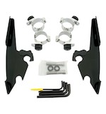 Memphis Shades Fats/Slim Trigger-Lock Mount Kit For Harley Sportster Forty-Eight 2010-2014