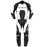 Alpinestars Carver 2 Piece Race Suit Black/White / 54 [Blemished]
