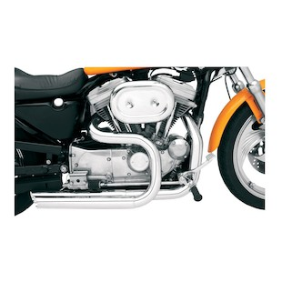 Bassani Heat Shields For Pro-Street Exhaust System For Harley Sportster 1986-2013