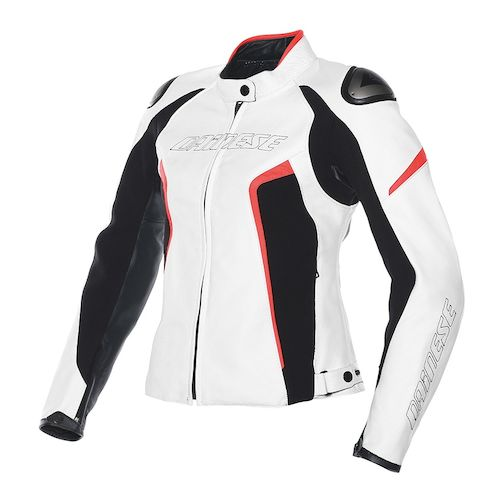 Dainese Racing D1 Women's Leather Jacket - RevZilla