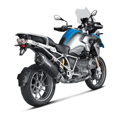 akrapovic slip on exhaust bmw r1200gs adventure revzilla. Black Bedroom Furniture Sets. Home Design Ideas