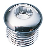 Drag Specialties Timing Plug / Oil Bag Drain Plug For Harley